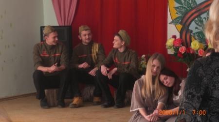 В селе Береговое состоялся конкурс патриотической песни