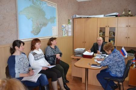 В Насыпном состоялись совещания по вопросам благоустройства