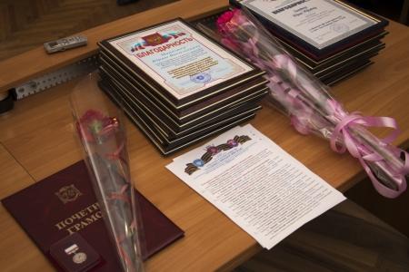 В Администрации Феодосии наградили в честь Референдума