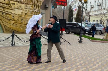 Феодосия отпраздновала Международный день театра