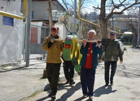 Феодосийцы  делают «Уютный город»