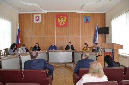 В Администрации города Феодосии состоялся конкурс на замещение вакантных должностей муниципальной службы