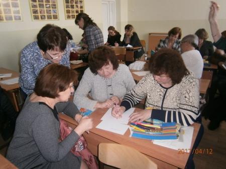 Состоялось очередное заседание городского методического объединения учителей