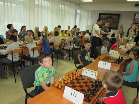 В Береговом состоялся шахматный турнир