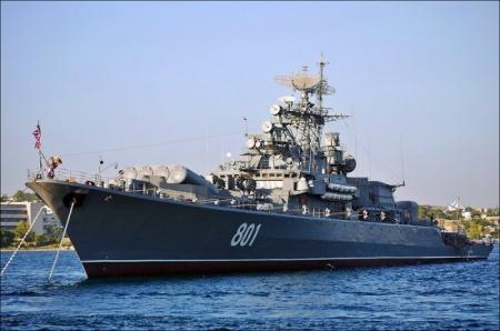 Сторожевой корабль Черноморского флота «Ладный» вышел из Севастополя в Средиземное море