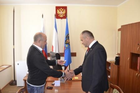Главу администрации Феодосии наградили медалью