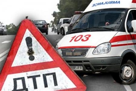 На въезде в Феодосию произошло ДТП