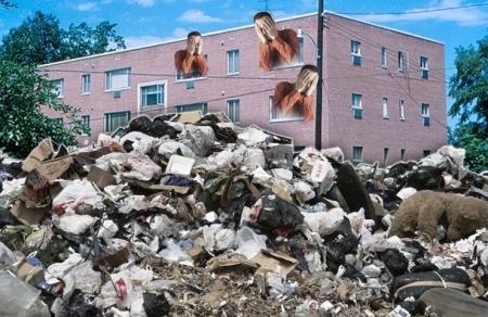 В городе власти начали активную борьбу со стихийными свалками мусора