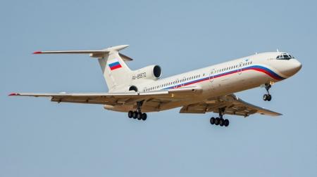 Самолет Ту-154, пропавший в районе Сочи, упал в Черном море