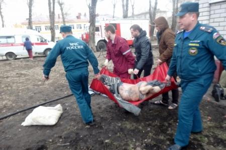Пожарные спасли четырёх человек из огня в Симферополе