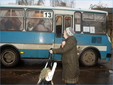 Сотрудники отдела транспорта проверили 13-й маршрут