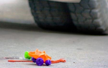 Водитель «копейки» сбил ребенка на пешеходном переходе в Симферополе