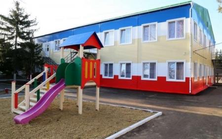 Около 3,7 млрд руб дополнительно поступят в рамках ФЦП на строительство модульных детсадов в Крыму