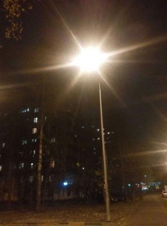 Феодосийский поселок Орджоникидзе восстанавливает уличное освещение