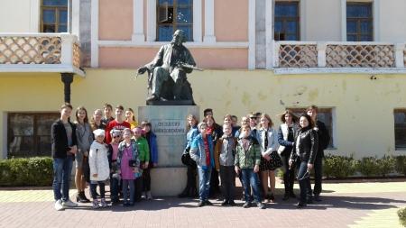 Учащиеся центра детского творчества посетили Галерею Айвазовского